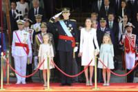 Saludo Felipe VI Letizia Ortiz rey reina