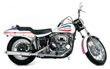 Harley Davidson Shovelhead FXR 1971