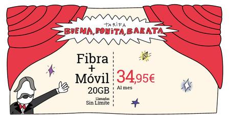 Lowi recupera su combinado de fibra y móvil por 35 euros para hacer frente a Amena, pero sólo de manera temporal