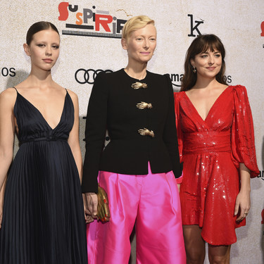 Tilda Swinton, Dakota Johnson, Chloë Grace Moretz y Mia Goth, un cuarteto de estilo infinito en Los Ángeles