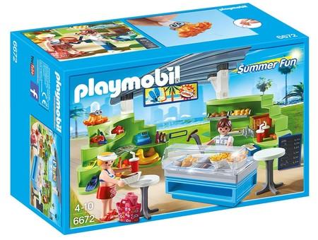 Llega el verano a Playmobil con el set Splish Splash café de Summer Fun. Ahora 24,74€ en Amazon