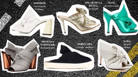 Zapatos Mules Lazo