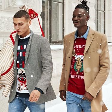 La navidad llegó a H&M con su colección de clásicos y divertidos suéteres
