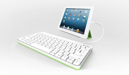 Nuevo Logitech Wired Keyboard para iPad, un teclado con cable
