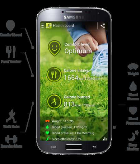 S health Samsung