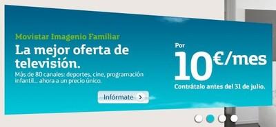 Movistar agita el mercado de la televisión de pago con su nueva promoción de Imagenio