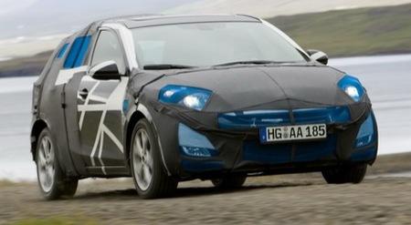 Fotos espía oficiales del Mazda3 compacto