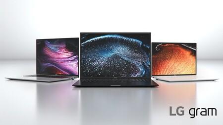 LG Gram 2021: procesadores Intel de 11a generación para máxima potencia en laptops ultraligeras de menos de kilo y medio de peso