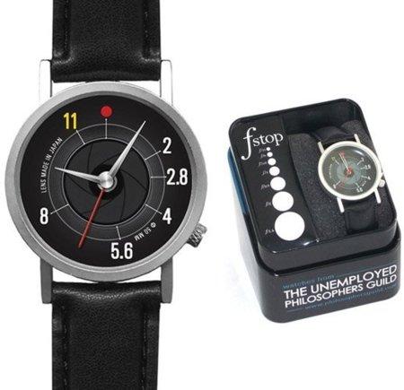 F-Stop Watch, reloj para fanáticos de la fotografía