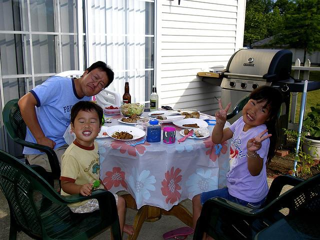 Comer un familia