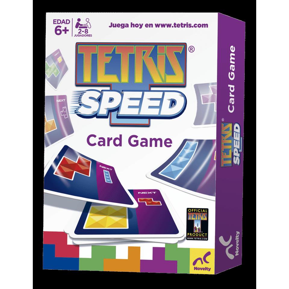 Juego de cartas Tetris Speed de Novelty