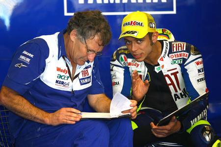 Valentino Rossi no quiere correr sin Jeremy Burgess