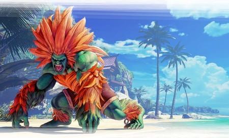 Blanka llegará la próxima semana a Street Fighter V  y, visto su tráiler, sigue siendo el luchador más achispado