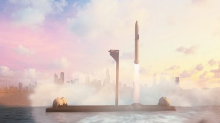 El BFR podrá llevarte a Marte o cualquier ciudad terrestre en una década, según la presidenta de SpaceX