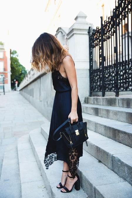 Vestido Lencero Negro 2