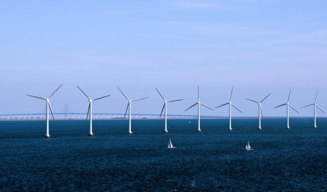 Dk 84 Kobenhavn Energy Copenhagen Denmark Wind Farm 4890897324