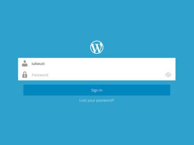 Wordpress 4.9 se apunta al desbloqueo con huella dactilar y otras interesantes mejoras