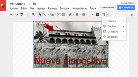 Google Slides facilita la edición de imágenes para insertar en tus presentaciones