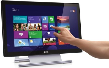 Dell S2240T, pequeño monitor reclinable para aprovechar Windows 8