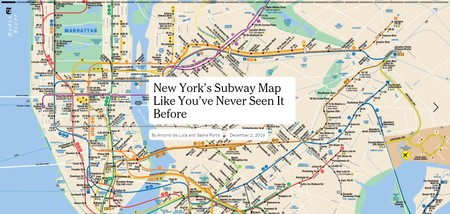 The New York City Subway Map As You Ve Never Seen