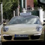¿Y si tu coche de autoescuela fuese un Porsche 911?