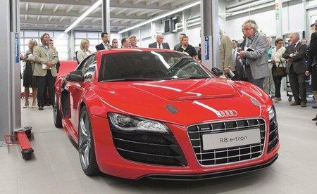 Audi R8 e-tron, listo para finales de 2012
