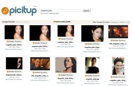 Picitup, nuevo buscador visual de imágenes