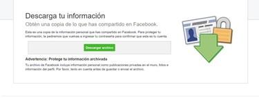 Cómo descargar todas tus fotos y tus datos de Facebook