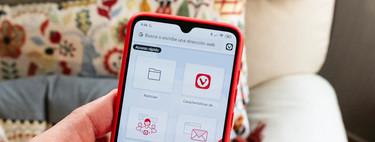 Probamos Vivaldi para Android, el navegador que viene al móvil a competir con Chrome, Firefox y compañía