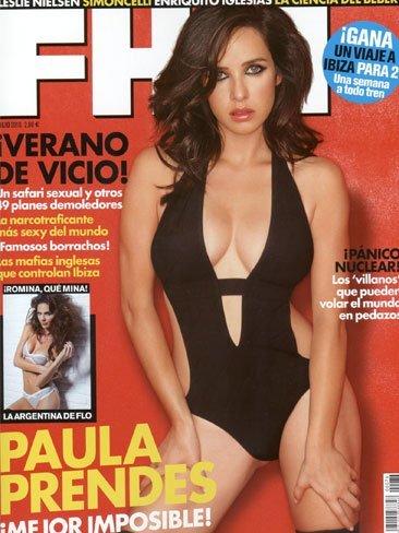 Paula Prendes sigue haciendo caja, ahora en la nueva portada de FHM
