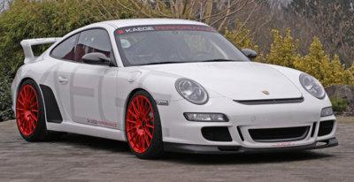 KAEGE propone un Porsche 911 GT3 (997) Clubsport, más potente y ligero