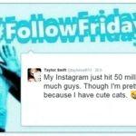 #FollowFriday de Poprosa: de los 5 años de Instagram al amor de esta red social