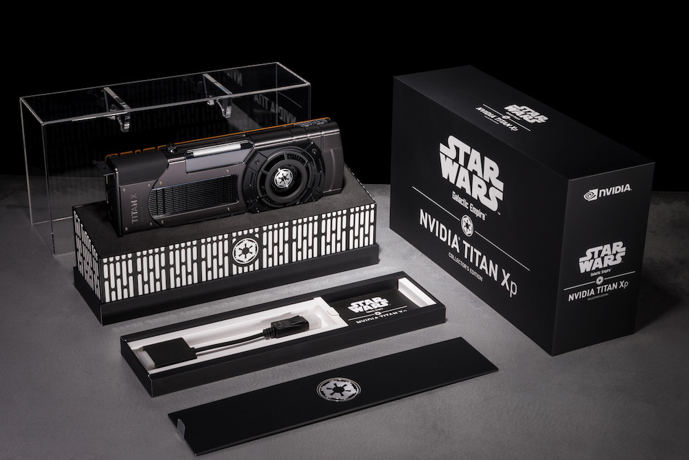 Nvidia Geforce Titan Xp Star Wars Collectors Edition Galactic Empire Packaging Photo 002