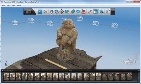 Convierte tus fotografías en modelos 3D, gratis, con Autodesk 123D Catch