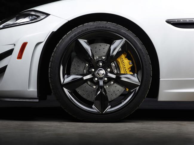 Jaguar XKR-S GT 2013, detalle de la rueda