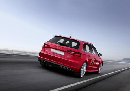 Audi A3 e-tron trasera