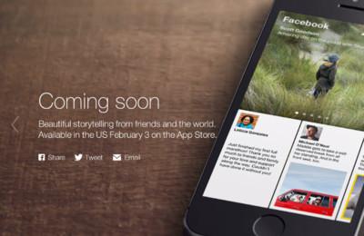Facebook presenta Paper, su propio lector de noticias para el iPhone