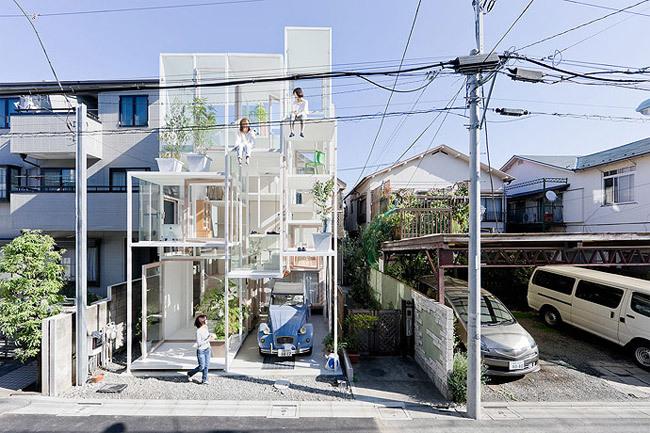 Foto de Casas poco convencionales: una casa completamente transparente (11/14)