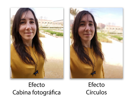 Huawei P30 Pro Retrato Frontal Efectos