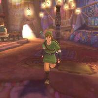 Qué puedes hacer en el bazar de Altárea en Zelda: Skyward Sword HD, y todos sus secretos
