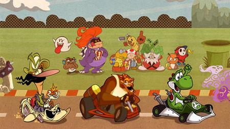 'Mario Kart': 41 artistas se unen para realizar uno de los mejores fanart de la historia