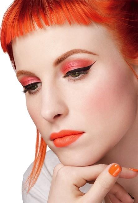 MAC se inspira en la cantante Hayley Williams para su nueva colección