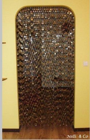 Hazlo tú mismo: una cortina con monedas