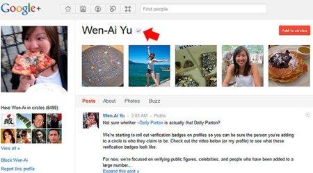 """Google+ lanza su propia versión de """"cuentas verificadas"""" para famosos"""