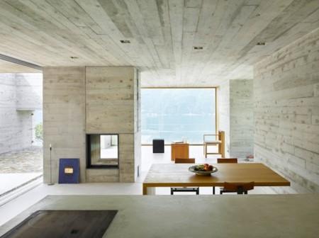 Suelos y paredes en hormig n pulido 17 inspiradores ejemplos for Casas modernas hormigon visto