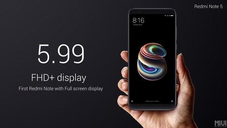 Xiaomi Redmi Note 5 Pantalla 5 99 Pulgadas