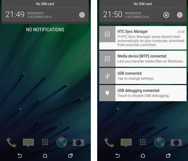 Foto de HTC One M8 con Android 5.0.1 y Sense 6 (1/6)