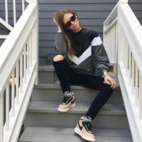 ¿Te convencen las zapatillas diseñadas por Riccardo Tisci para Nike? A ellas parece que sí