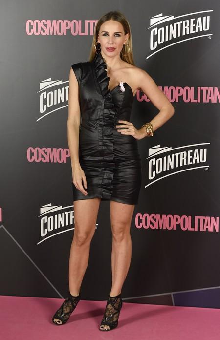 premios cosmopolitan 2017 alfombra roja look estilismo outfit Actriz Carola Baleztena