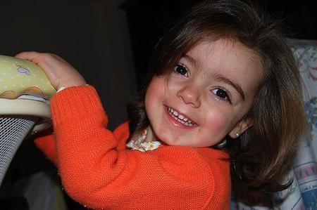 La foto de tu bebé: la sonrisa de Irene